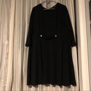 Fall approved 3/4 sleeve skater dress!